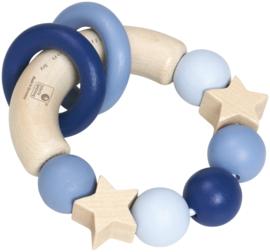 Selecta Grijpspeeltje Glucksgriff blauw