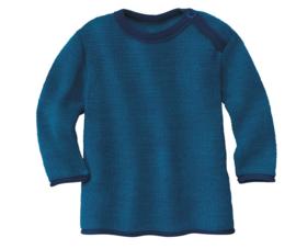 Disana merino wollen trui marine-blauw