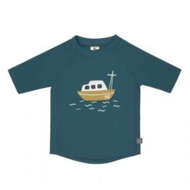 Lässig UV t-shirt Boat blue