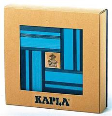Kapla 40 Blauw met Boek