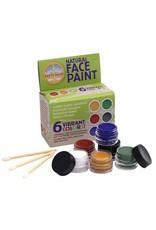 Natural Earth Paint natuurlijke schmink in 6 kleuren