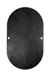 Slijtplaat deksel pomphuis XAR 4 mm