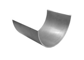 Slijtschaal loopvlak RVS 3 mm/ PL 200