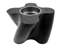Verdringer 105 mm NBR 4-vleugel HiFlo L
