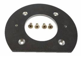 Slijtplaat achterzijde pomphuis XAR 10 mm
