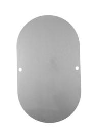 Slijtplaat deksel pomphuis RVS 4 mm