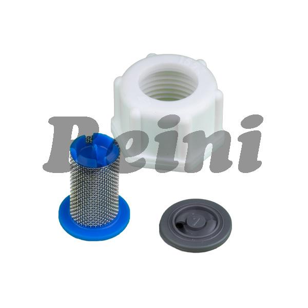 Nepe/Repe mondstukmoer, zeef en wervelplaat