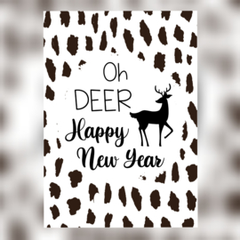 Oh DEER Happy New Year - A6
