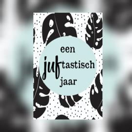 Minikaartje 'Een juf-tastisch jaar'