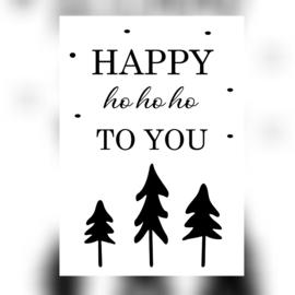 Happy ho ho ho To You - A6