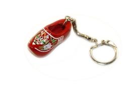 Sleutelhanger + 1 klompje 4 cm - Rood Molen