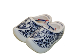 Souvenirklompjes 6,5 cm - Wit Delftsblauw