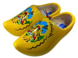 Houten Klompen - Geel Molenlandschap