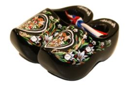 Souvenirklompjes 6,5 cm - Zwart Molen