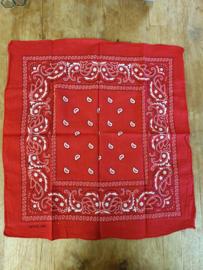 Boerenzakdoek - rood