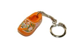 Sleutelhanger + 1 klompje 4 cm - Oranje Molen