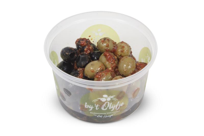 Bruschetta olijven gemengd