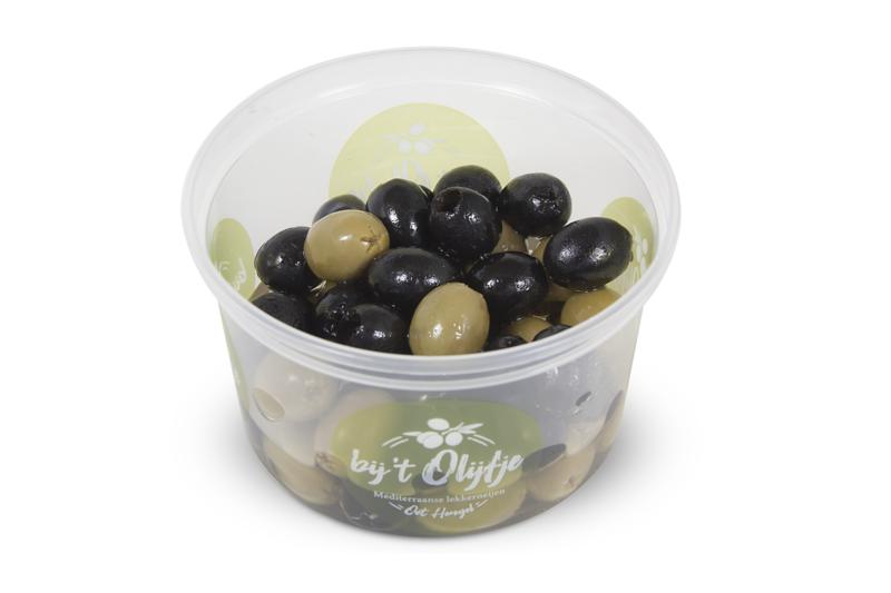 Gemengde naturel olijven