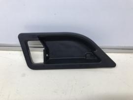 928 cover cap handle door panel black - left