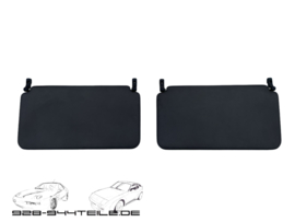928 sun visors rear seat - dark green - set
