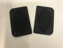 Lautsprechergitter-Set 944 Türverkleidung - schwarz