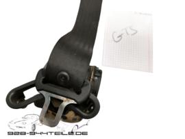 928 GTS - Rücksitzgurte - Set - schwarz