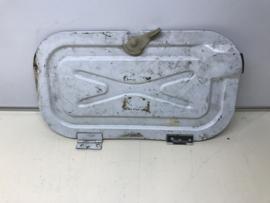 928 battery box lid - white