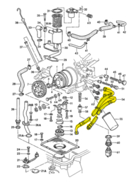 Porsche 928 oil lines  - new
