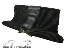 924/944 rear seat - skai / fabric - black