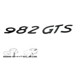 928 GTS - Typenbezeichnung Heckstoßstange