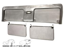 928 GTS/S4 - Heckklappenverkleidung mit Sonnenblende - grau