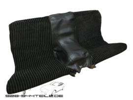 924/944 Rücksitz - Skai / Stoff - schwarz
