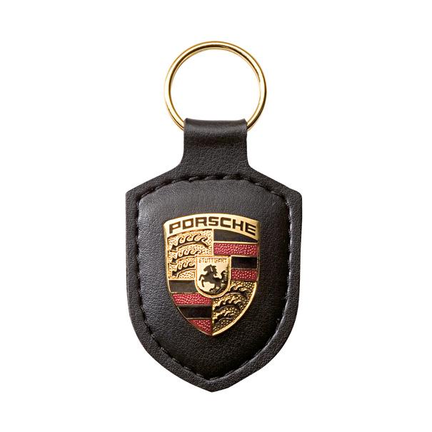 Porsche schlüsselhanger schwartz