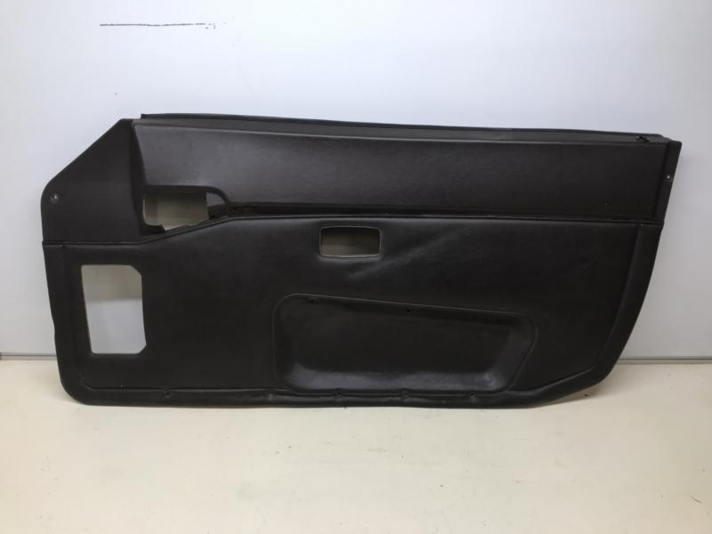 944 Typ 2 Türverkleidung schwarz - Beifahrerseite