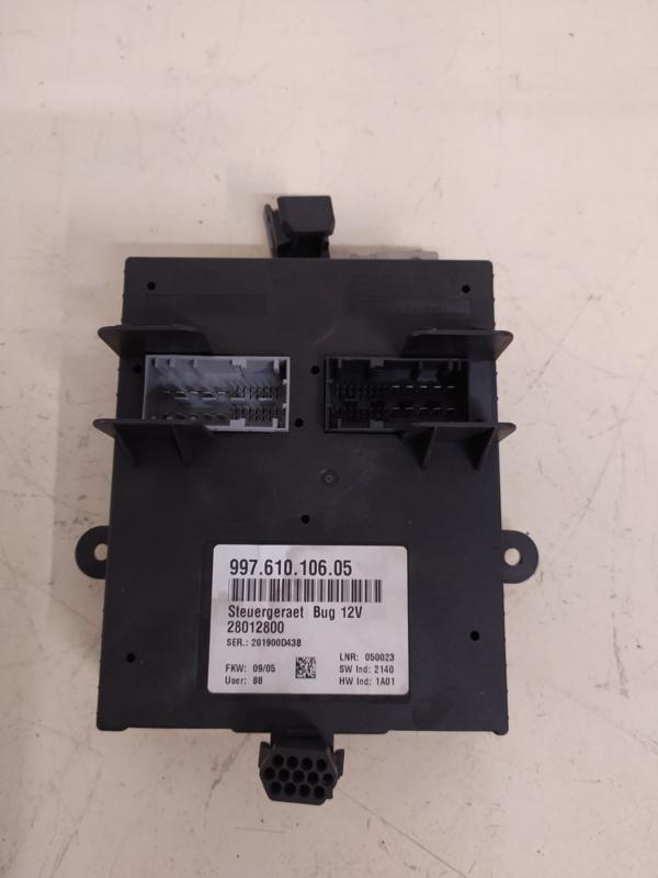 987 Boxster trunk control unit