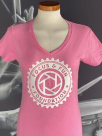 Focus and Fun shirt logo dames