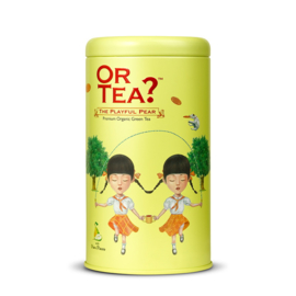 Or Tea? The Playful Pear Groene Thee Blik 85 gram