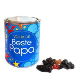 Gevuld snoepblik - Voor de Beste Papa