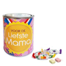 Gevuld snoepblik - Voor de Liefste Mama