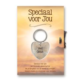 """Sleutelhangerkaart """"Speciaal voor jou"""""""