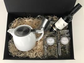 Giftbox 'Tea and Wine'