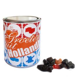 Gevuld snoepblik - Groeten uit Holland