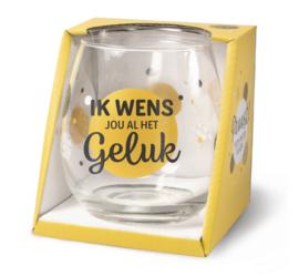 Glas - Ik wens jou al het geluk