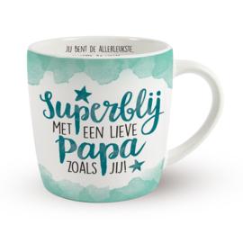Enjoy mok - Superblij met een lieve papa