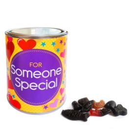 Gevuld snoepblik - For someone special