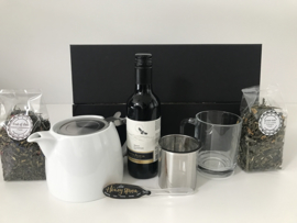 Giftbox 'Tea and Wine'