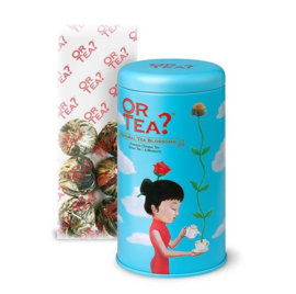 Or Tea? Natural Tea Blossoms Goudsbloem Thee Blik 42 gr