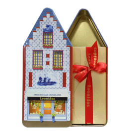 Leonidas Blik Huis met Mini doos (ca 15 bonbons)