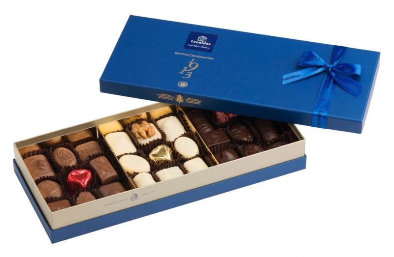 Leonidas Giftbox Blauw (27 bonbons)