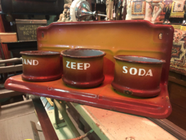 Emaille zand zeep soda set incl levering